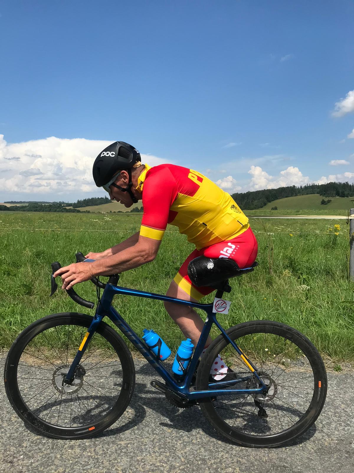 Michal Stark - závodník.