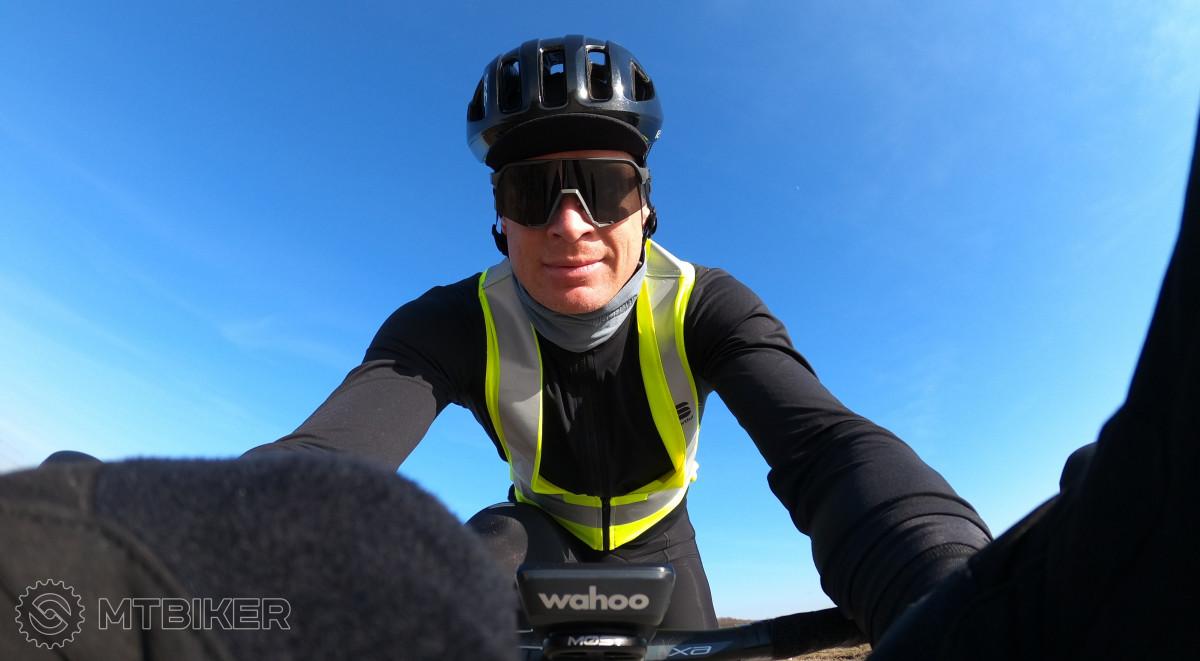 reflexná vesta pre cyklistov Sportful
