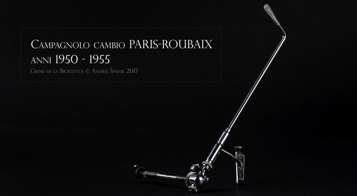 Campagnolo Paris-Roubaix prehadzovačka, 3. generácia. Pre mňa jeden z najgeniálnejších vynálezov v rámci cyklistiky, ktorý opäť čaká na svoje znovuobjavenie. Polovica 40. rokov 20. storočia