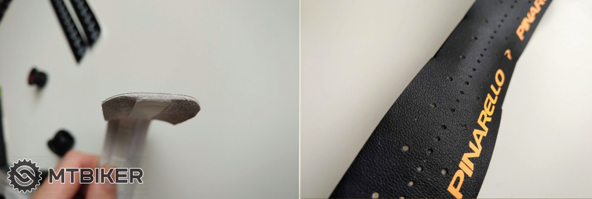 Pinarello Nastro Dry 1,8 mm - průřez a detail povrchu.