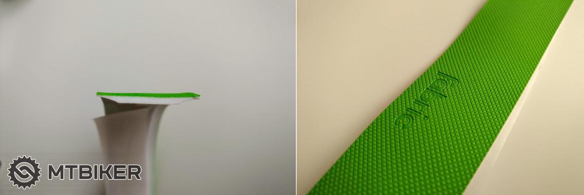 Fabric Knurl - průřez a detail povrchu.