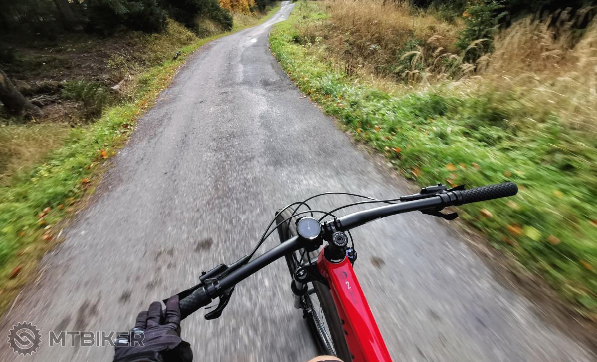 Cyklotrasa 6182 na Kavalčanky