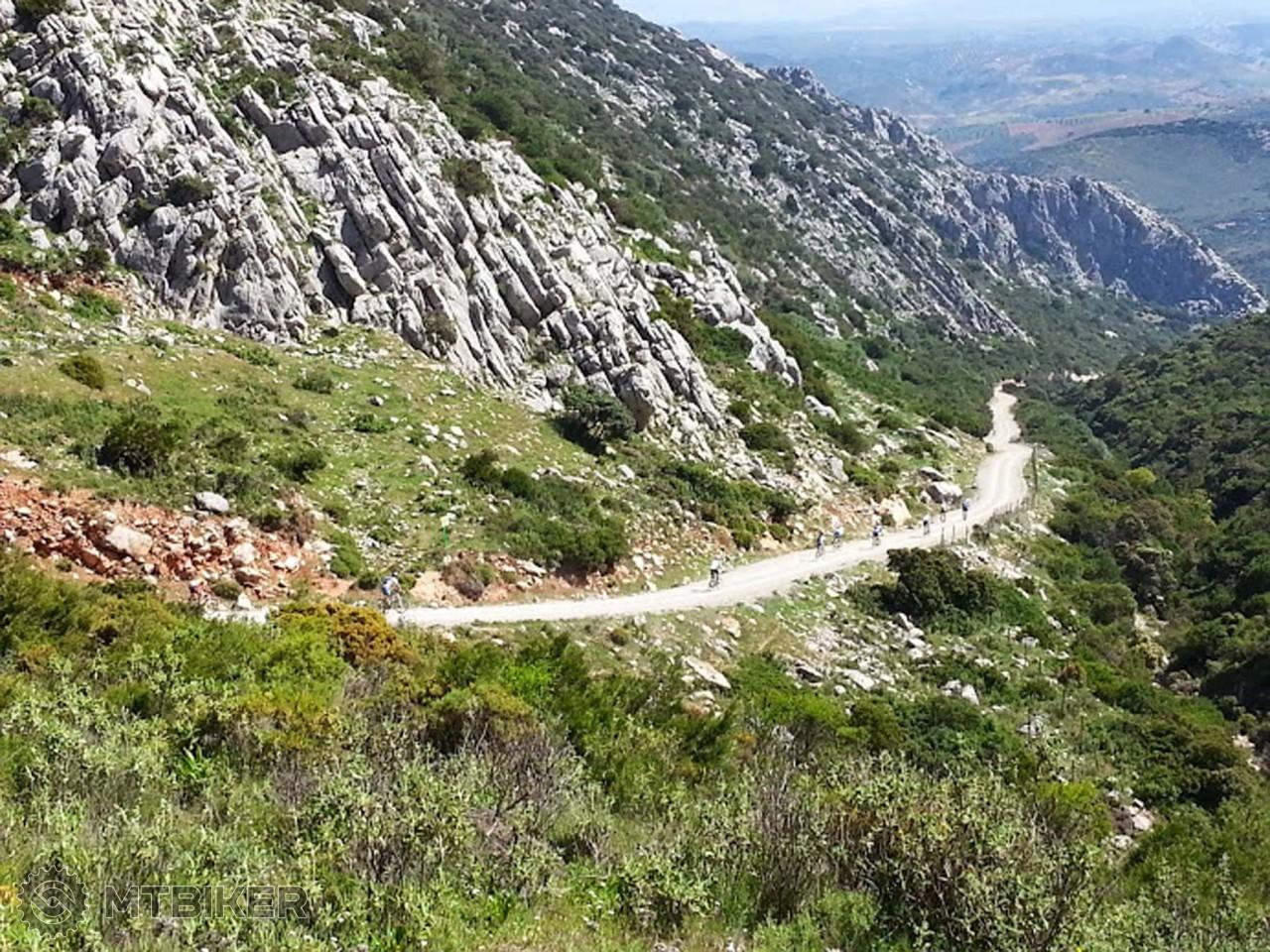 Bikom v Andalúzií