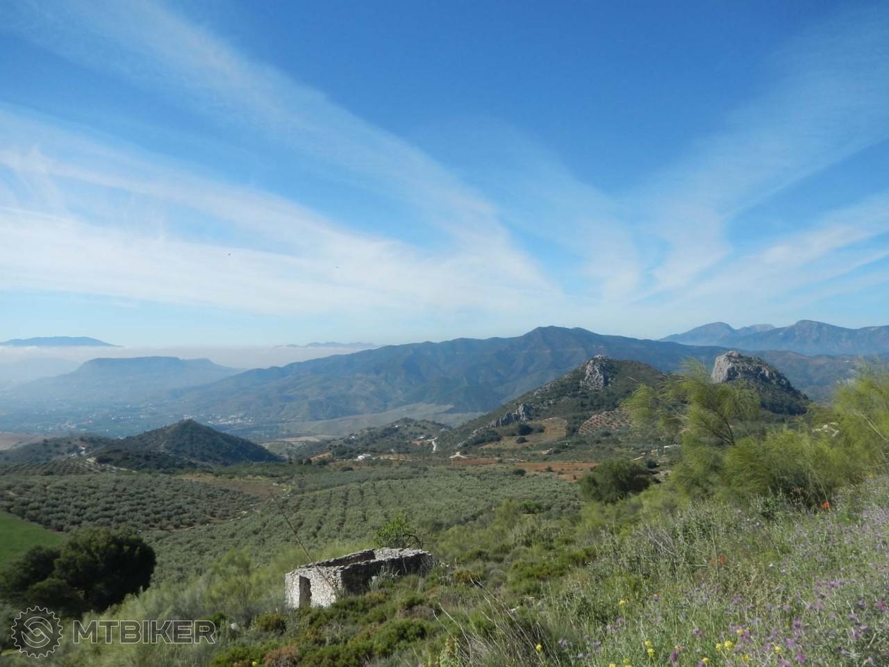 Krásna príroda v Španielsku