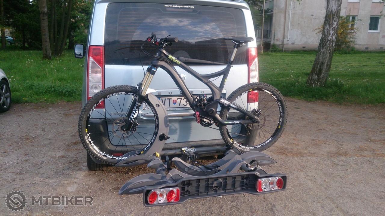 Bike na nosiči