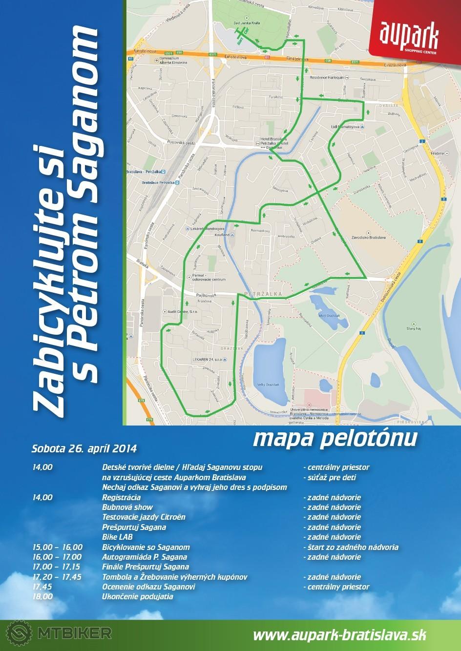 Plagát a mapa