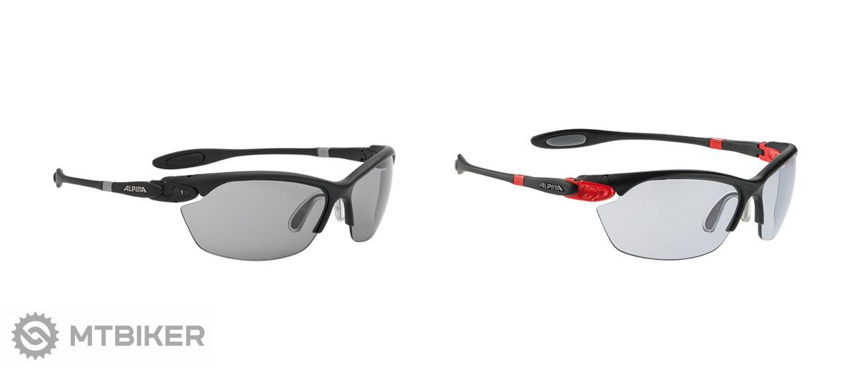 Alpina disponuje naozaj širokým portfóliom okuliarov a prilieb. V každom  segmente si môžete vybrať z rôznych farieb 25eb44cd6db