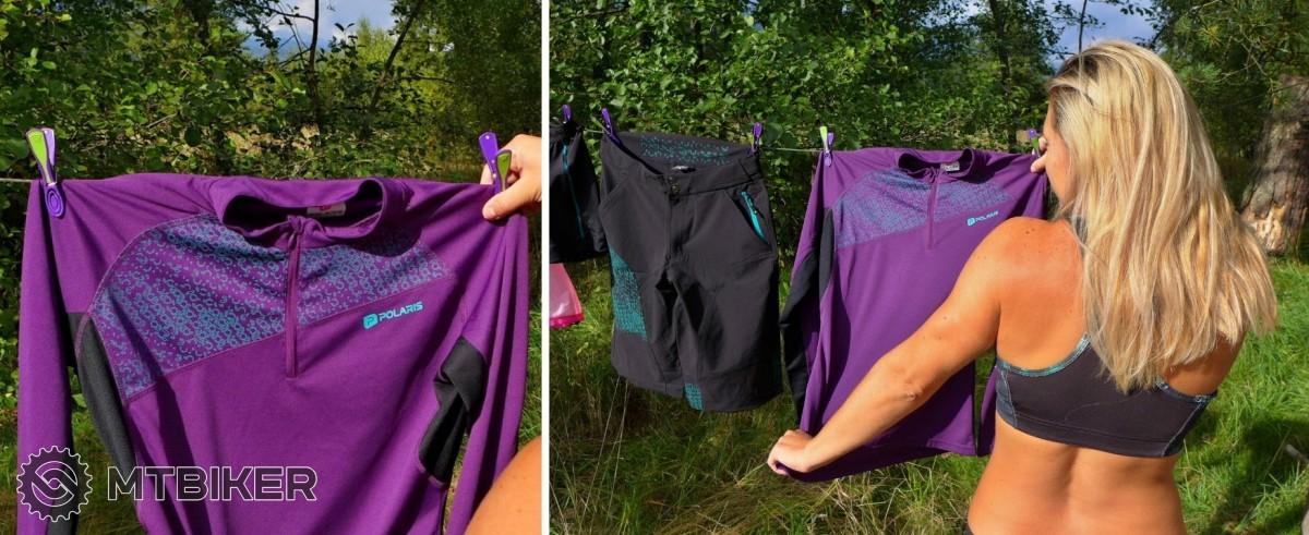 eab51e89d828c Polaris Trail shorts ladies - MTBIKER Shop