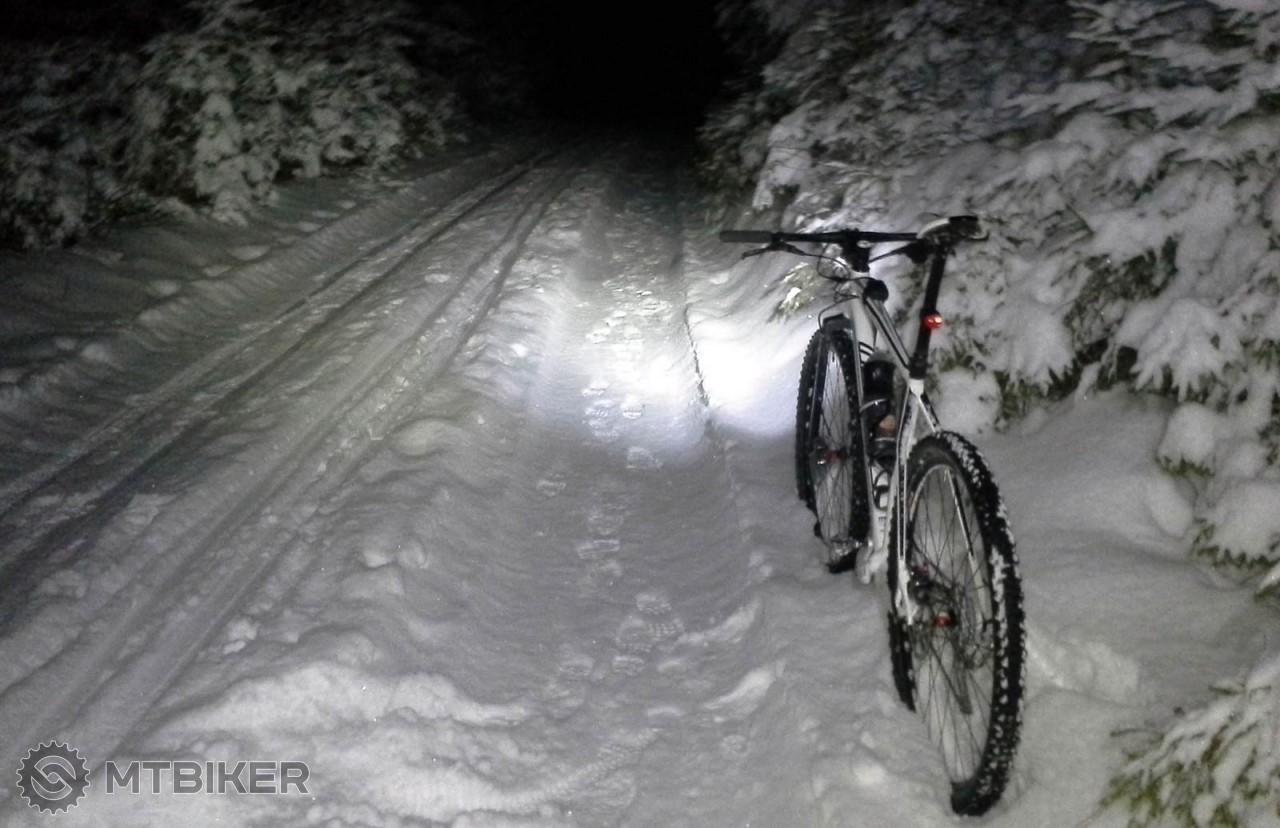 Nočný výjazd v zime
