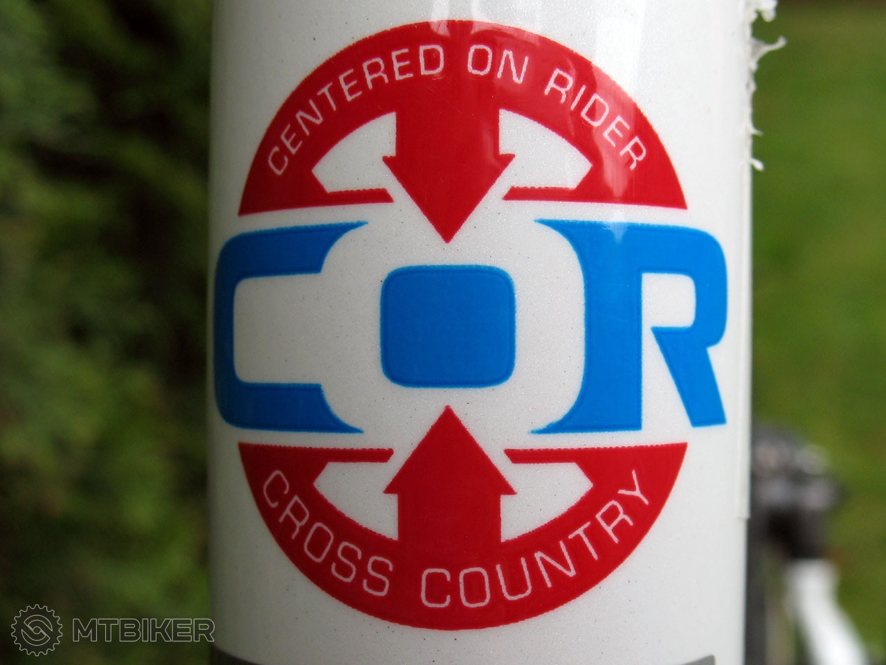 Centered on rider - Cross Country